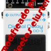 Boss DD-3 Tape Mod, por Cluster