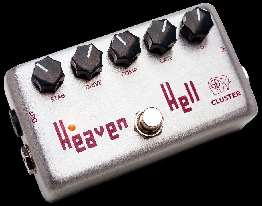 Cluster Heaven&Hell, pedal de fuzz distorsión