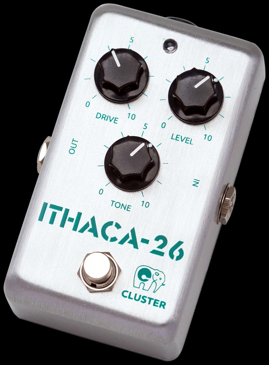 Cluster Ithaca-26, pedal de distorsión hi-gain