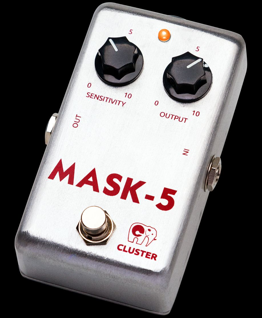 Cluster Mask-5, pedal compresor & sustainer