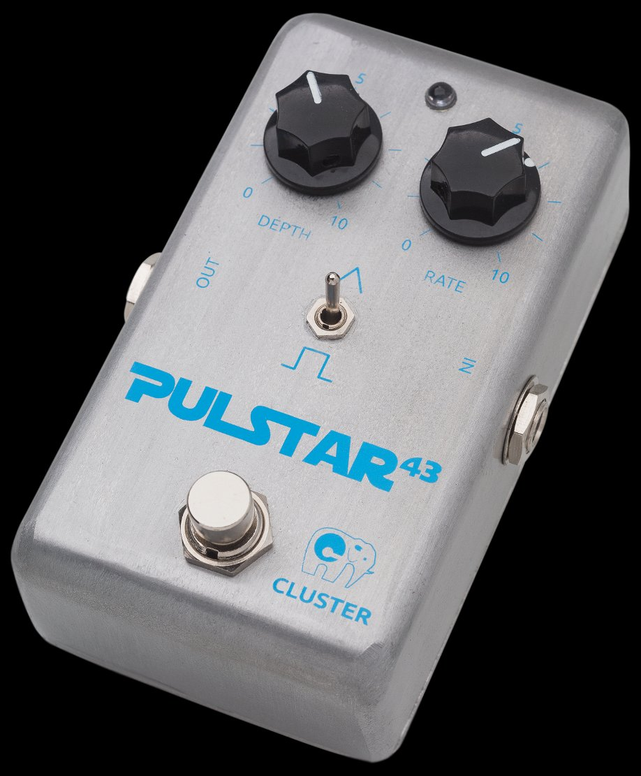 Cluster Pulstar-43, pedal de trémolo