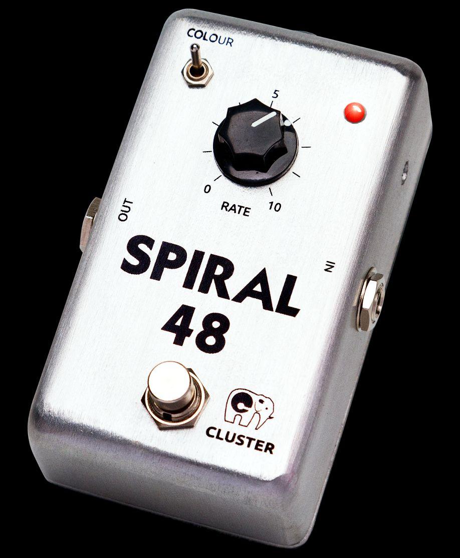 Cluster Spiral-48, pedal de phaser