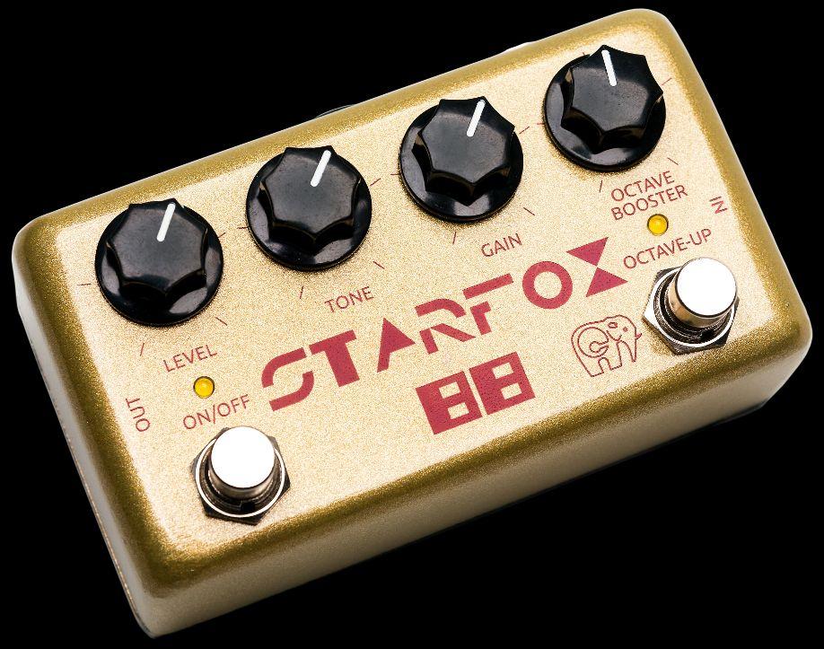 Cluster StarFox-88, pedal de fuzz octavador