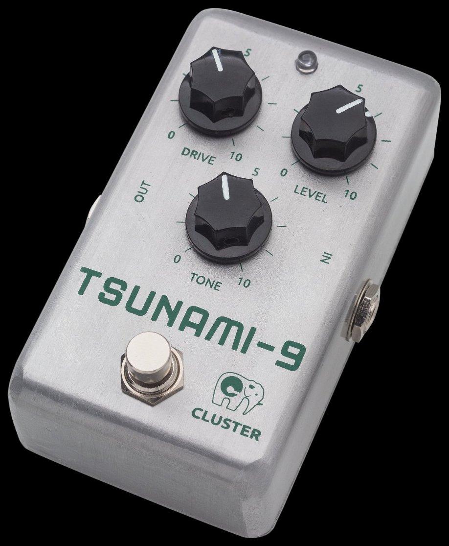 Cluster Tsunami-9, pedal de overdrive & distorsión