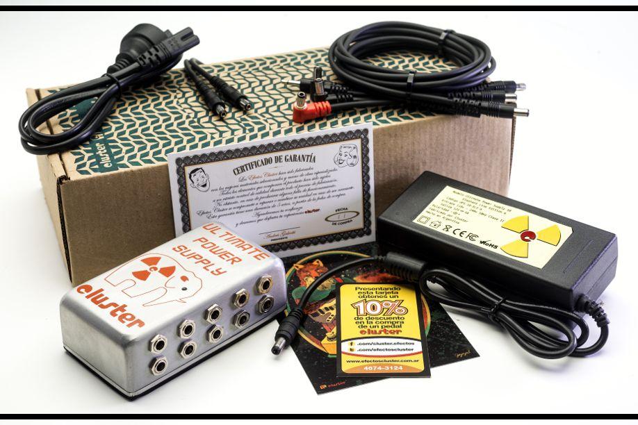 Cluster UPS-10, fuente de alimentación para pedales de efecto