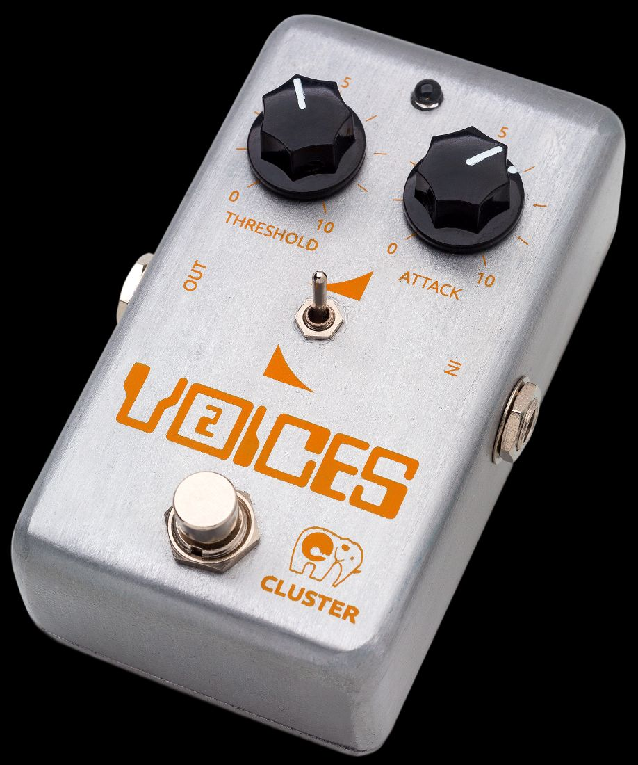 Cluster Voices-2, pedal de auto-wah (envelope filter)